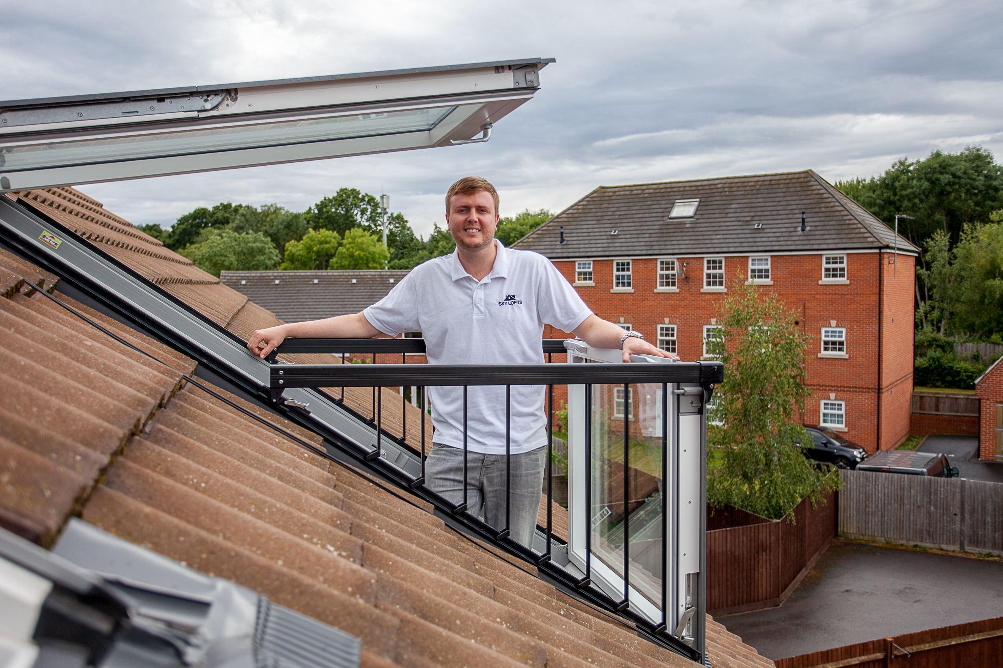 loft conversion balcony windows