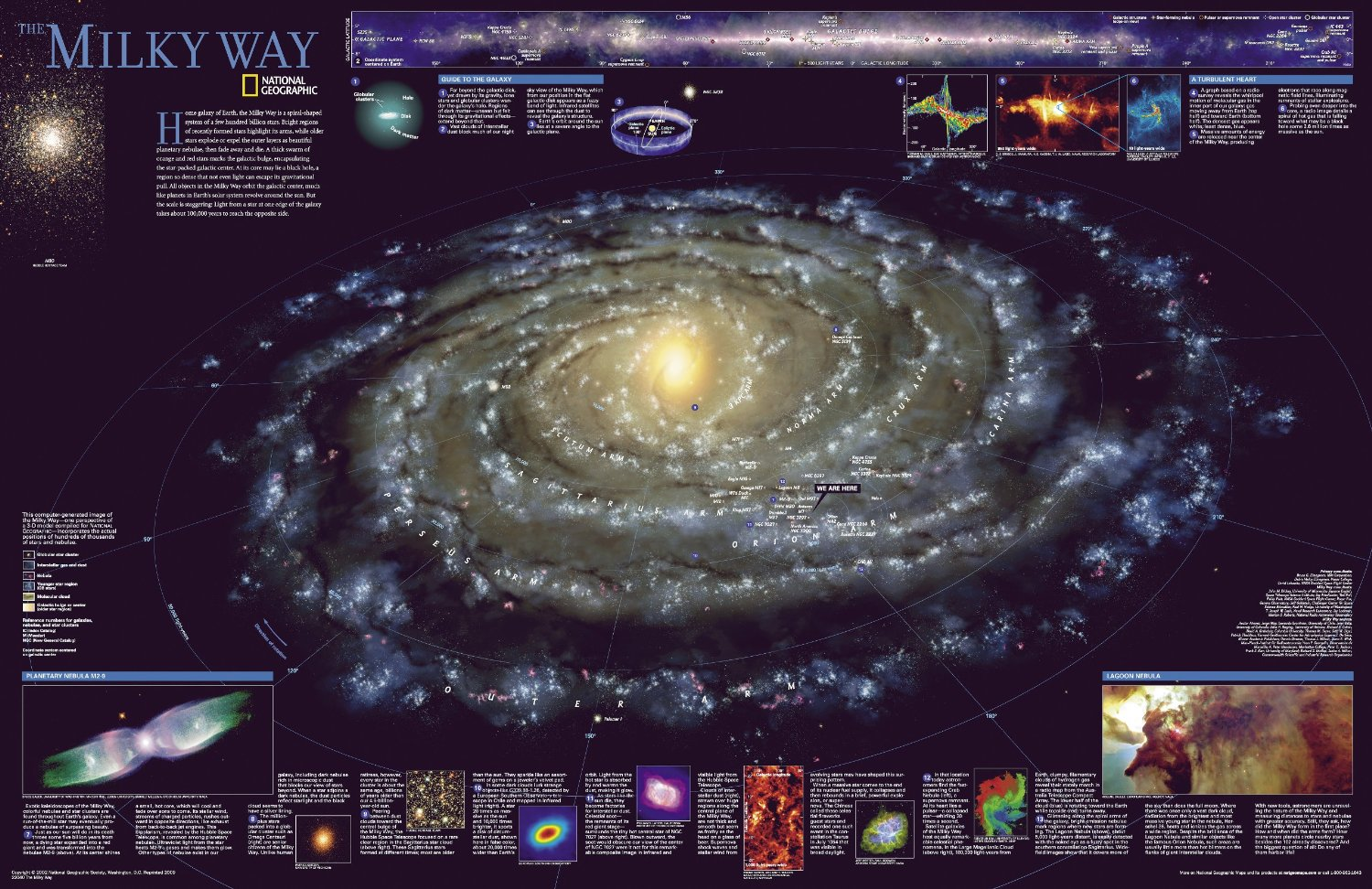 hight resolution of the milky way click to view detailed image