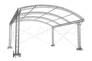 Arched Roof Truss System for mega-concerts,festivals