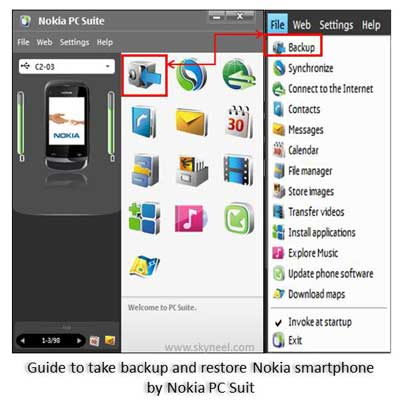 How to take backup and restore Nokia smartphone