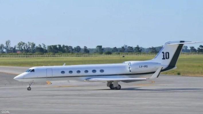 ميسي يمتلك طائرة فاخرة خاصة لرحلاته