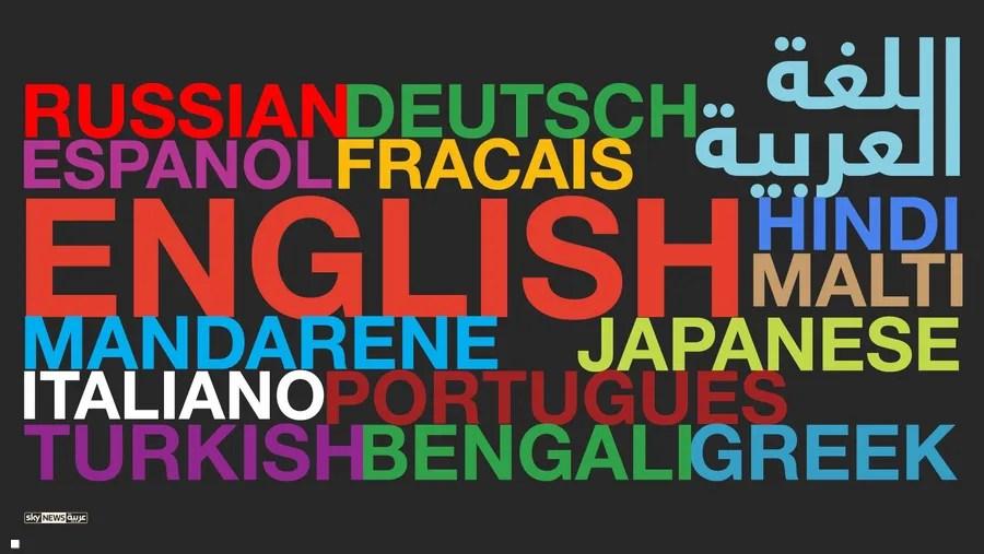 إنفوغرافيك أكثر 10 لغات انتشارا بالعالم بينها العربية