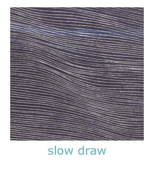 slow draw line drawings