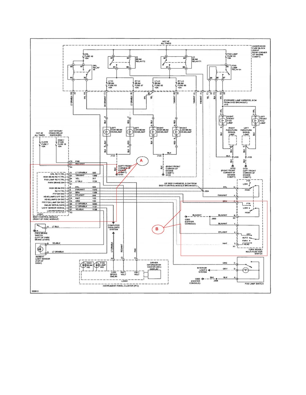 medium resolution of 1998 saturn sl fuse box diagram