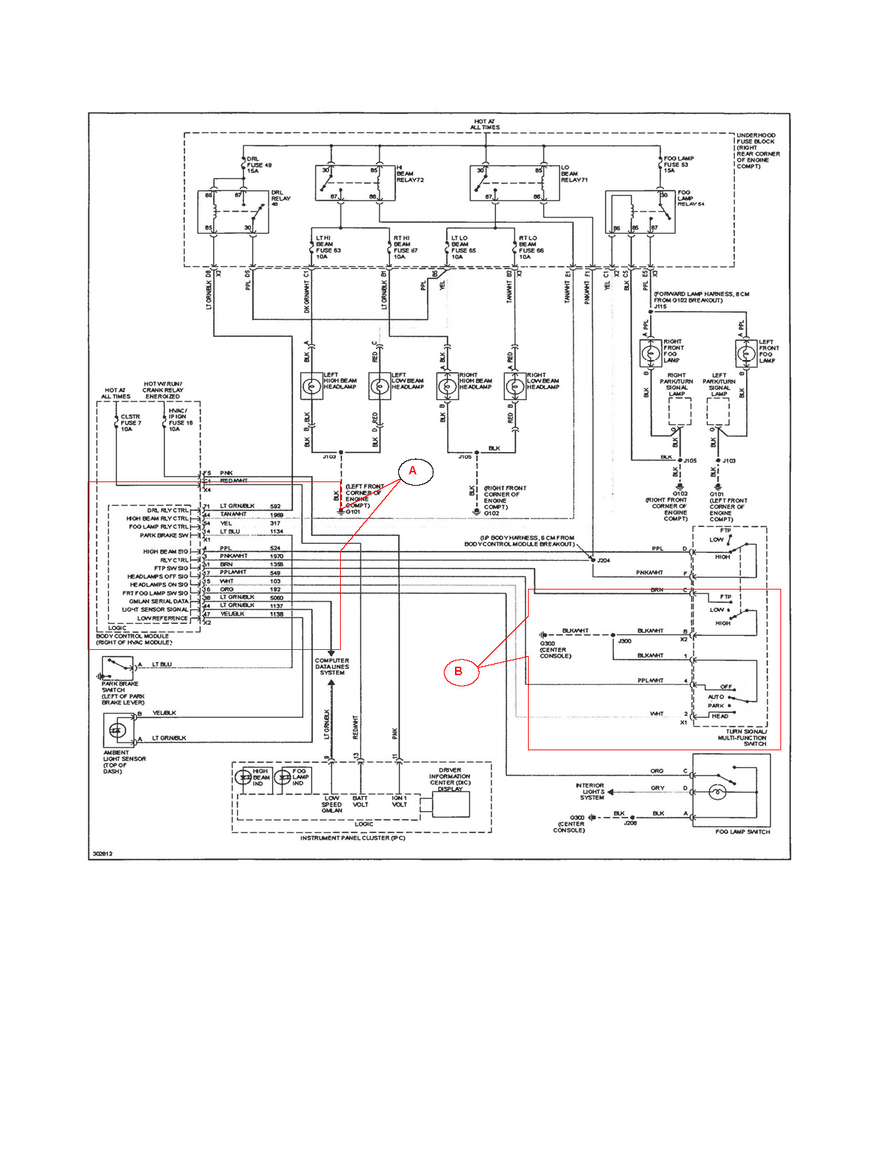 hight resolution of 1998 saturn sl fuse box diagram