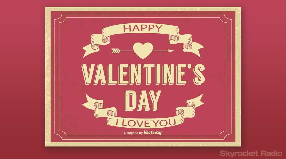 Skyrocket Radio Free Download Retro Valentine S Day Graphic