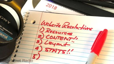 New Year Resolutions for Radio Station Websites