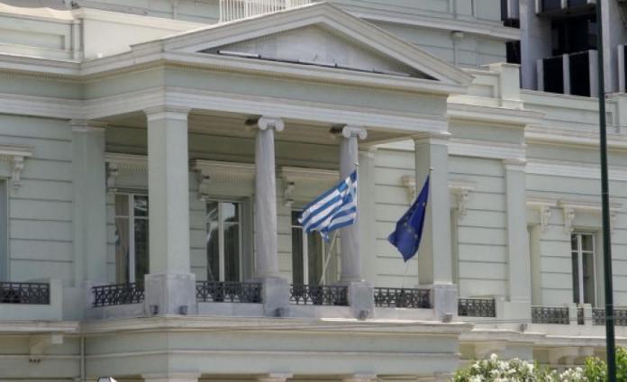 ΥΠΕΞ: Αναμένουμε από την Τουρκία άμεση καταδίκη του περιστατικού στο Καστελλόριζο