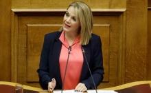 Για τα έργα που έχει ανάγκη η Ρόδος μίλησε στη Βουλή η Μ. Ιατρίδη