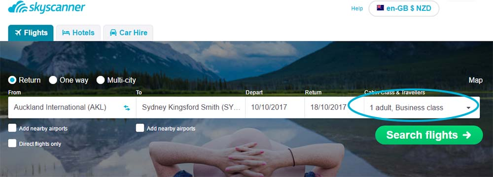 How to Fly Business Class on an Economy Budget - Skyscanner New Zealand