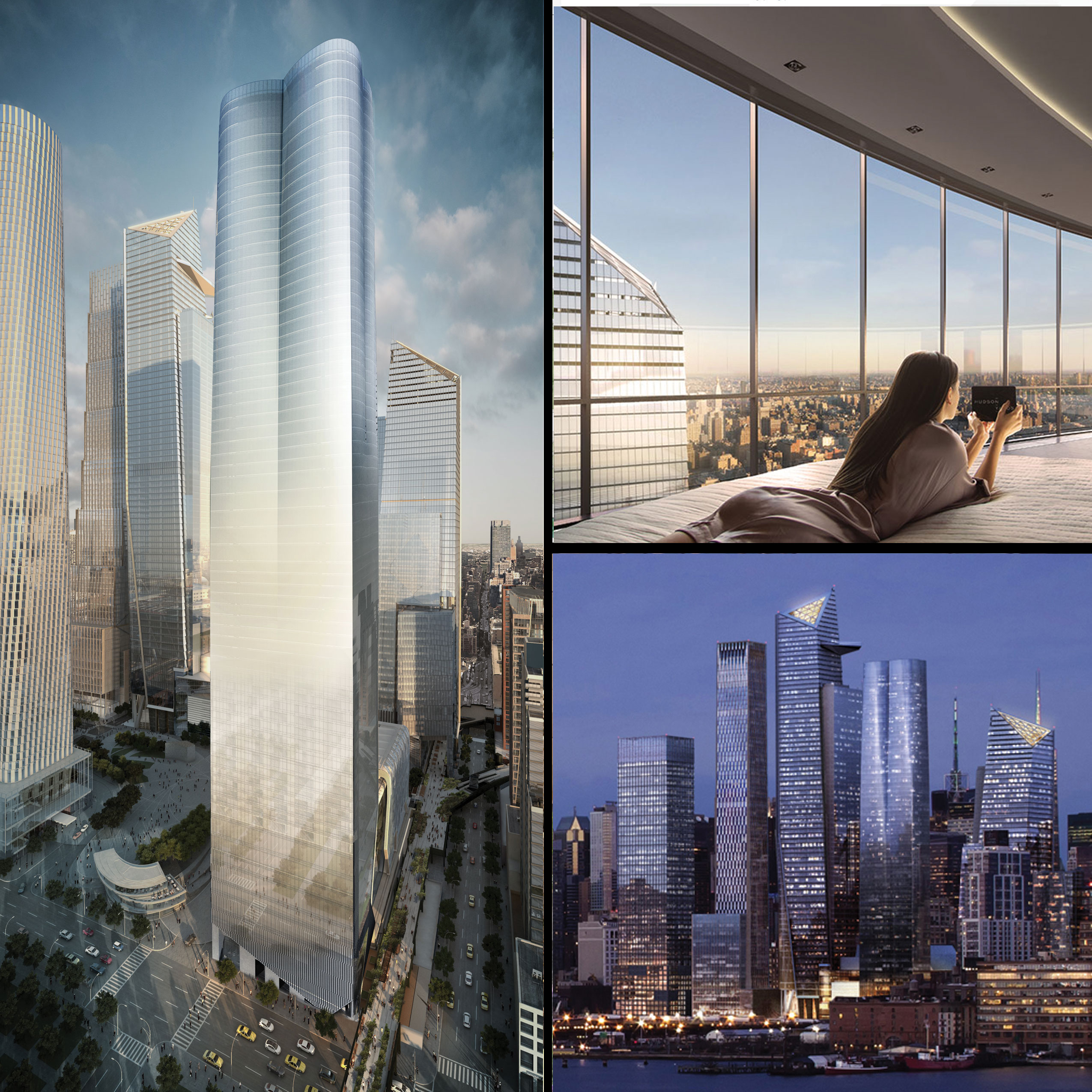 TOP TENS  TEN TALLEST RESIDENTIAL TOWERS IN NYC