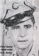 Paul Epley - 1948-1955, U.S. Army