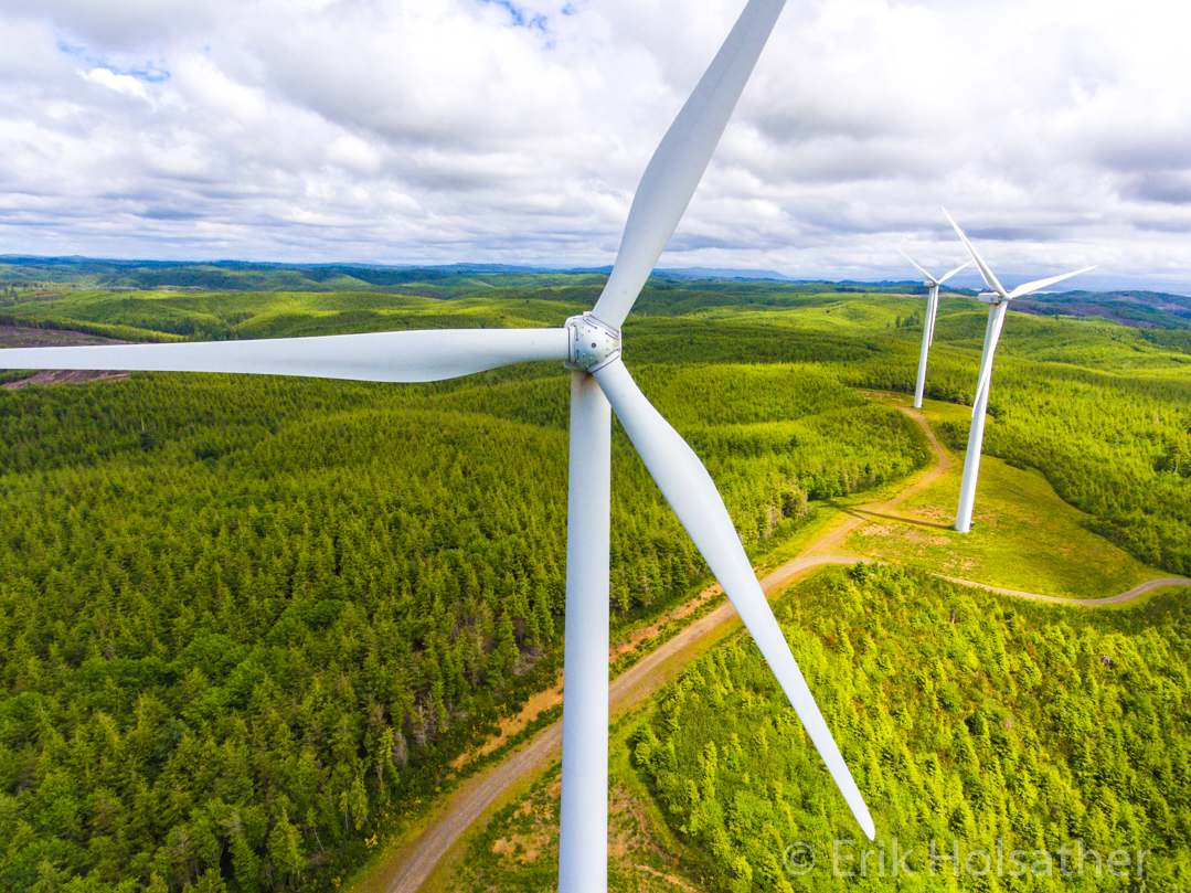 Wind Farm Inspection Services | Sky Solutions NW