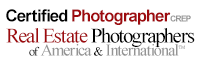 Certified Photographer, Real Estate Photographers of America & International