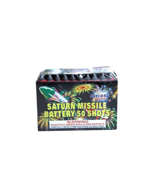 50 Shots Saturn Missile Battery