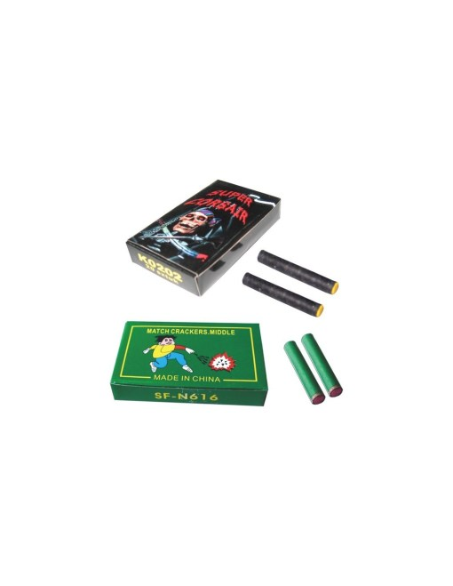 2 Match Cracker(Green or Black box)