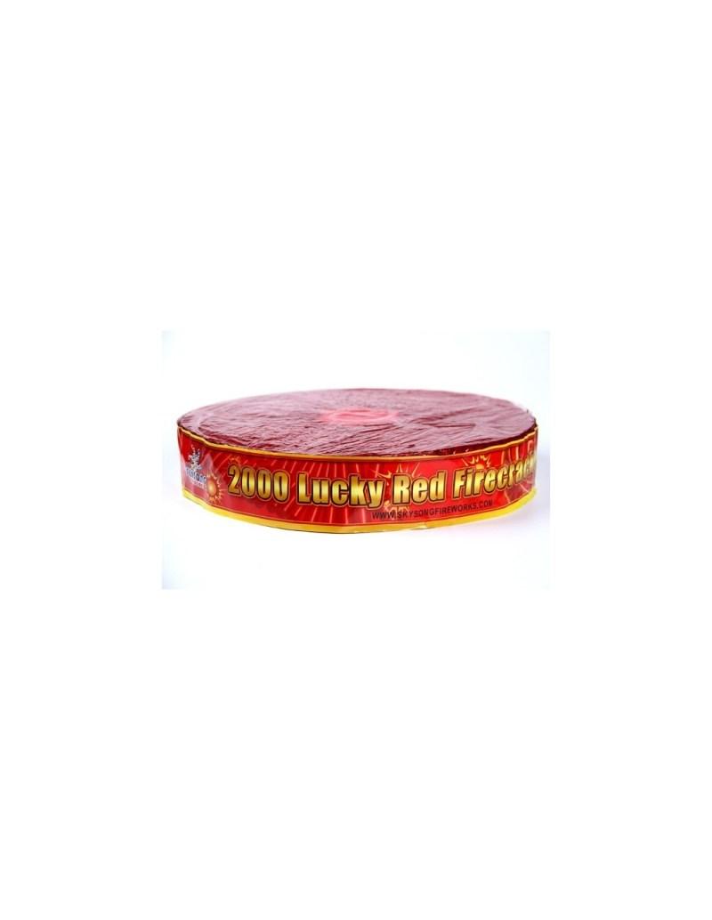 2000 Luck Red Firecrackers