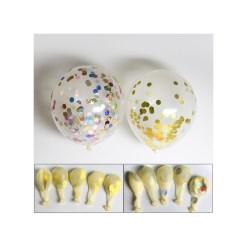 Gold Foil Confetti Balloons - 50pcs