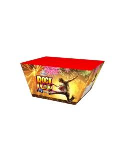 Rock You 72Shots Fan Cake