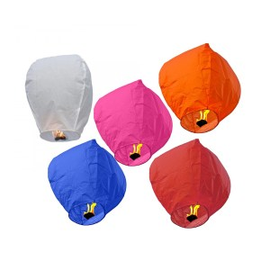 Mixed Color Sky Lantern 10PCS