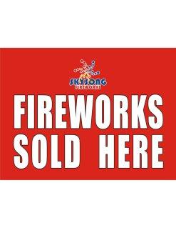 Banner Fireworks 5'x6'