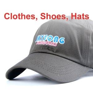 Clothes, Shoes, Hats