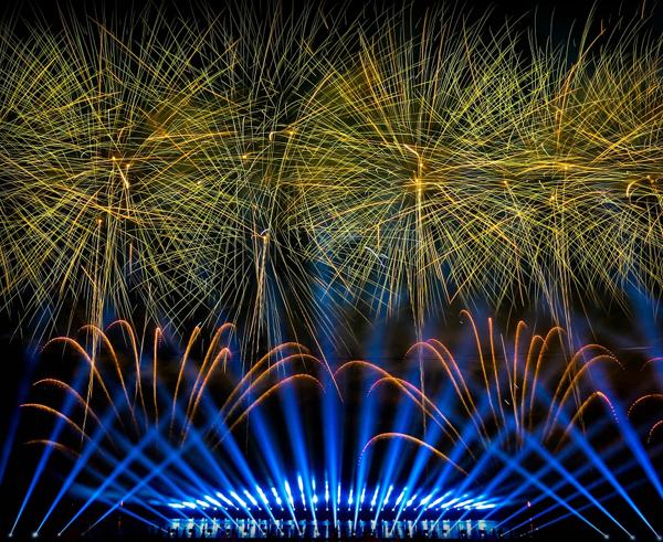 professional fireworks