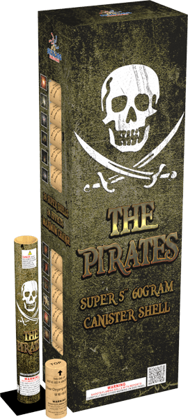 the pirate canister shells