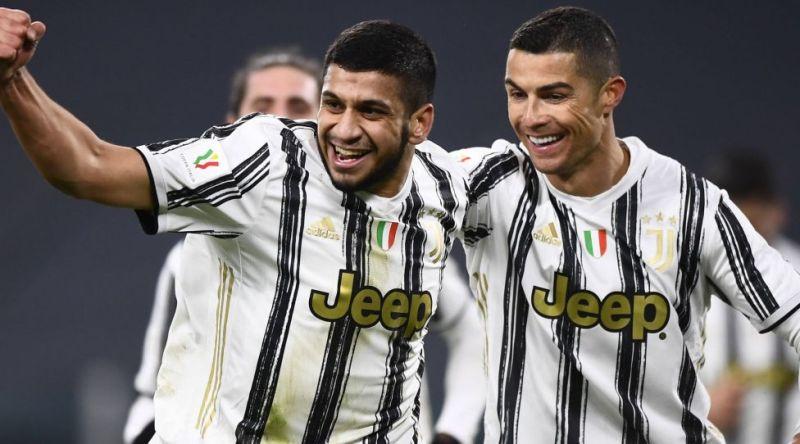 Nc Torino 13/01/2021 - Coppa Italia / Juventus-Genoa / photo Nicolo Campo / Image in the photo: Hamza Rafia goal exultation PUBLICATIONxNOTxINxITA