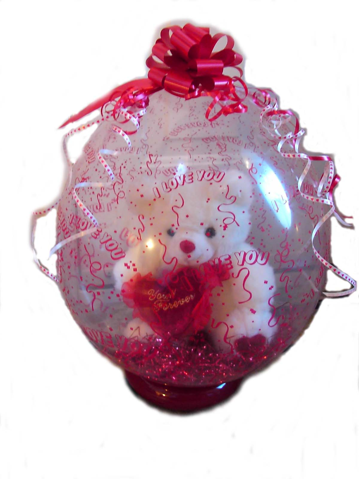 Stuffed Balloon Gift In A Balloon All My Love Valentines