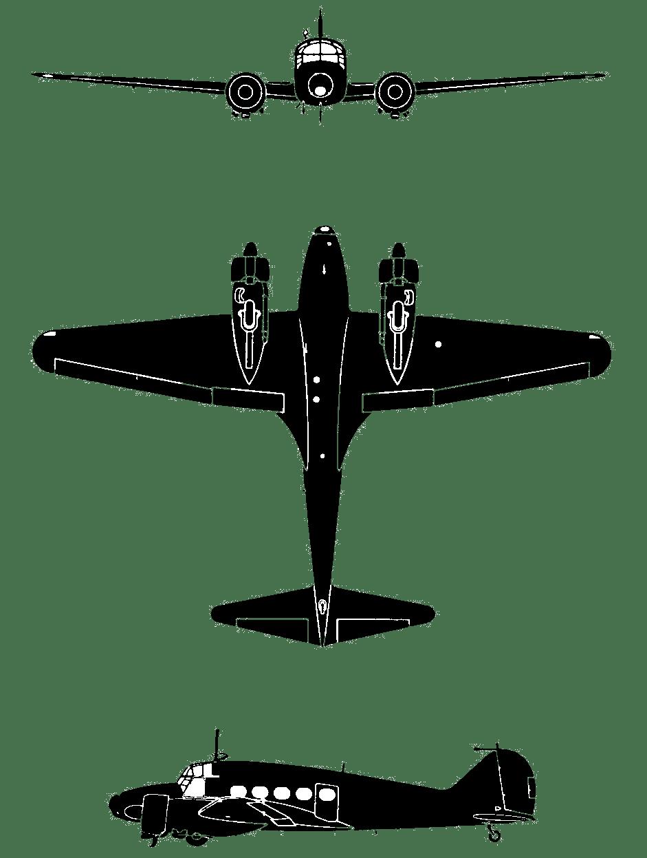 Avro (Federal) 652A Anson Mk.V twin-engine advanced