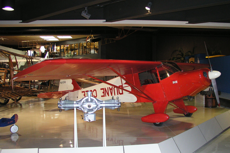 TaylorcraftCole BF50 ClippedWing