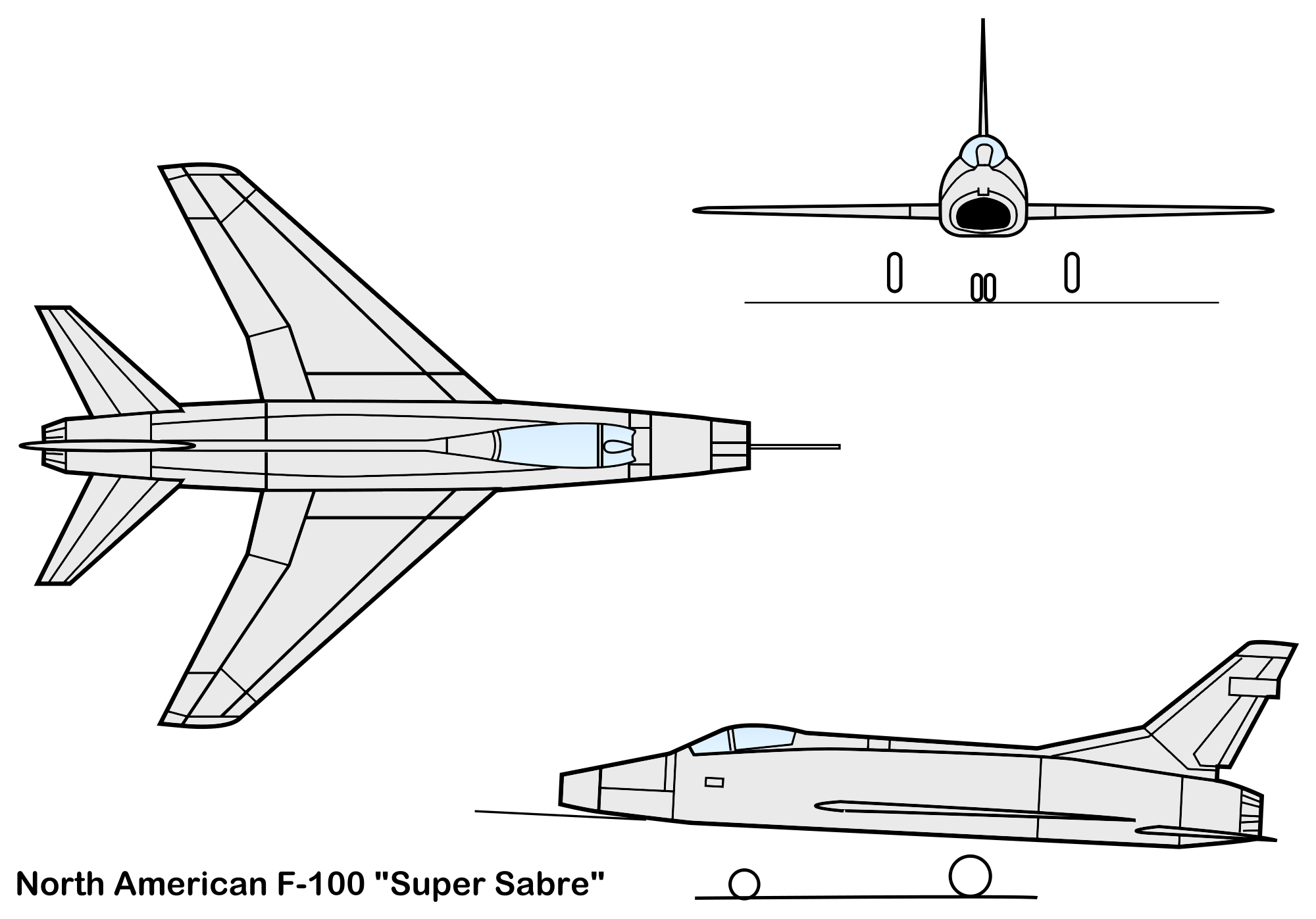 North American YQF-100 Super Sabre specifications and photos