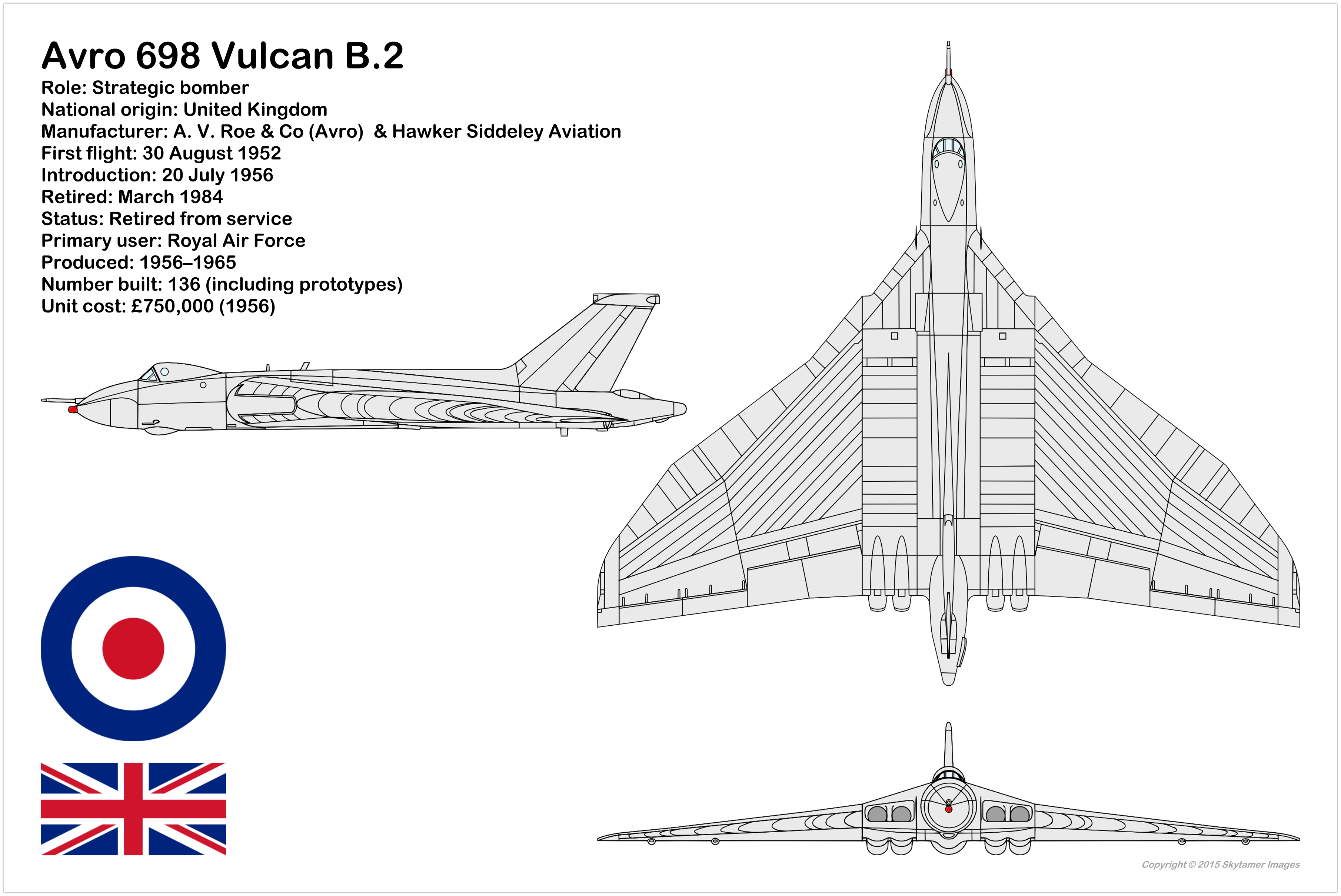Aircraft 3 View And Silhouette Drawings A Listings