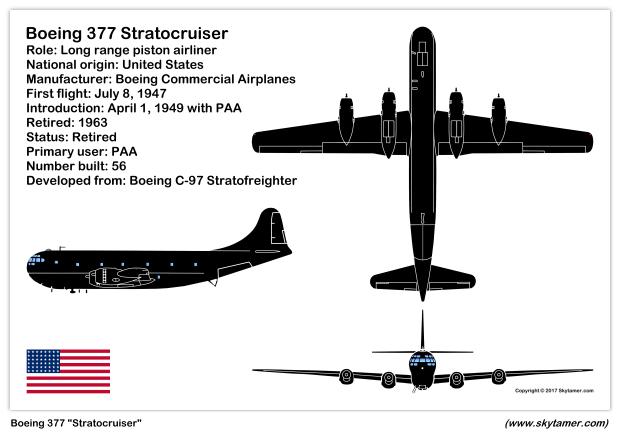 Boeing Model 377 Stratocruiser Boeing 377 Stratocruiser