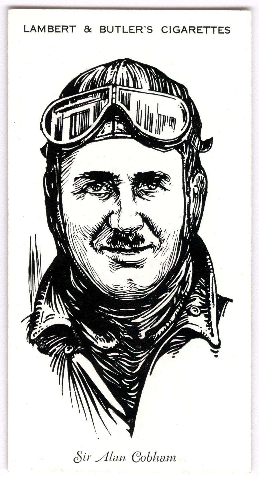 1935 Famous British Airmen & Airwomen, L8-46, The Imperial