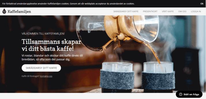 Kaffefamiljen