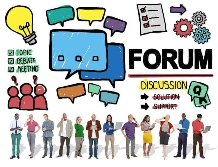 Use of Forums
