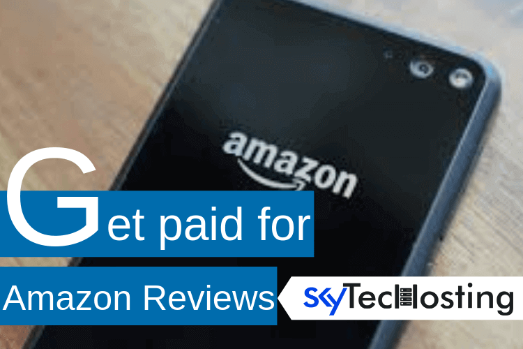 get paid for amazon reviews
