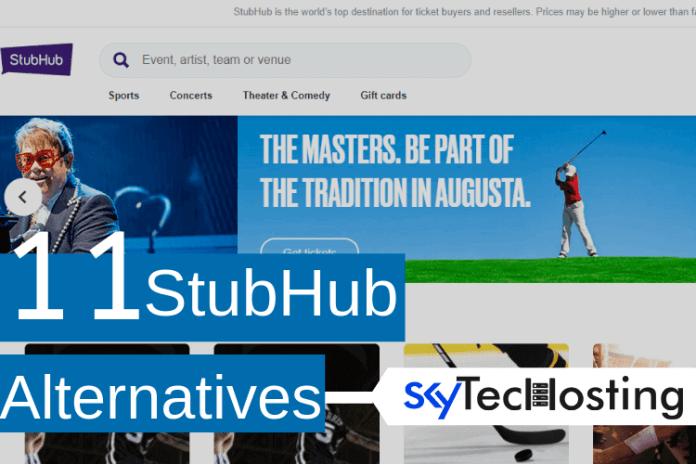 stubhub alternatives