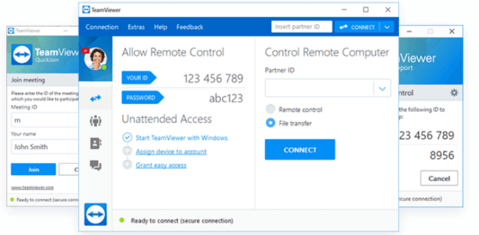 a connection could not be established teamviewer not running on partner computer