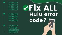 fix all hulu error code