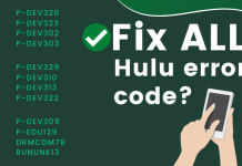 fix all hulu error code