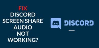 fix discord screen share no audio