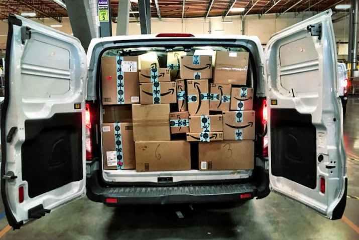 package delivery van