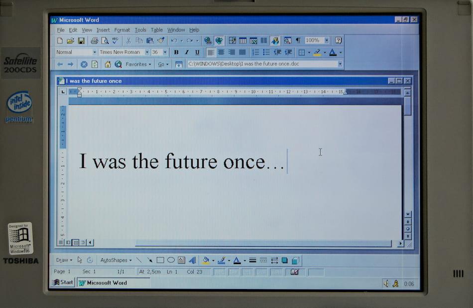 Type on microsoft word