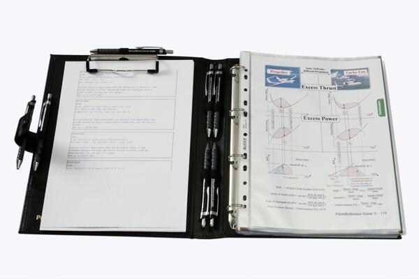 Pilots Reference Binder