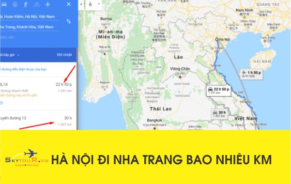 Từ Hà Nội Đi Nha Trang Bao Nhiêu Km