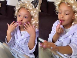 See video of Kairo Forbes Halloween makeover