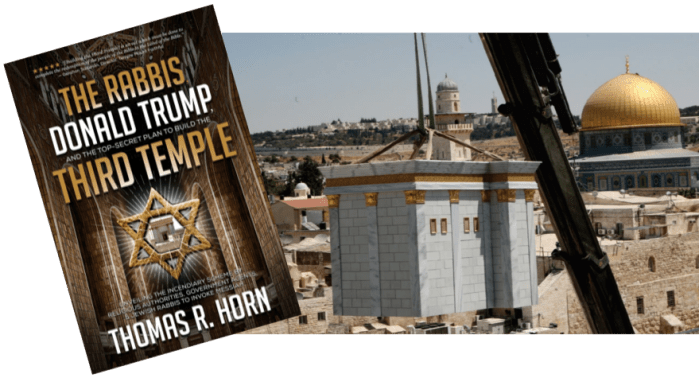 """TEMPLE INSTITUTE TELLS JEWS TO """"GET READY"""" FOR CONSTRUCTION"""
